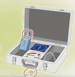 加圧筋力トレーニング 機器の空気配管