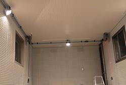 日東工器・エアライナーをガレージにて使用例