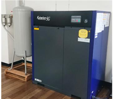 印刷機用・業務用エアーコンプレッサー10馬力
