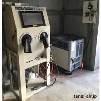 不二製作所SFK-2コンプレッサー導入