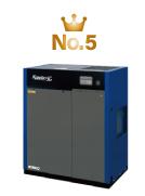 給油式エアーコンプレッサー人気ランキング5位・ スクリューエアーコンプレッサーSG