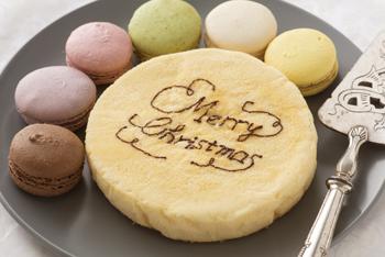 ケーキに手描きメッセージ・クリスマス